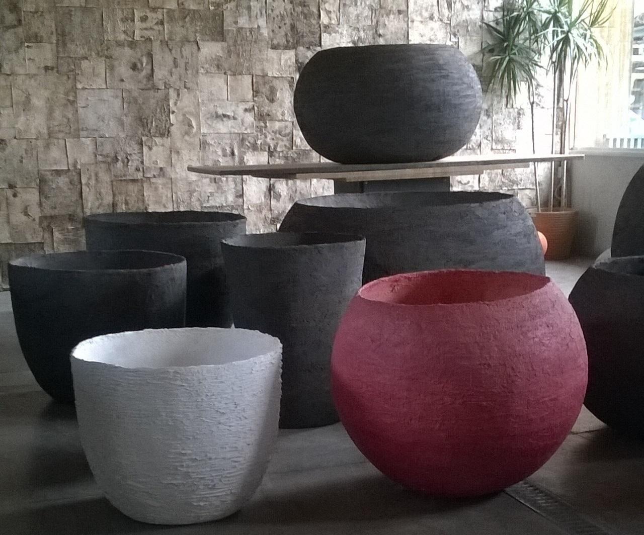 Vasi Interno Grandi Dimensioni una serra meravigliosa e l'arte dei vasi fatti a mano